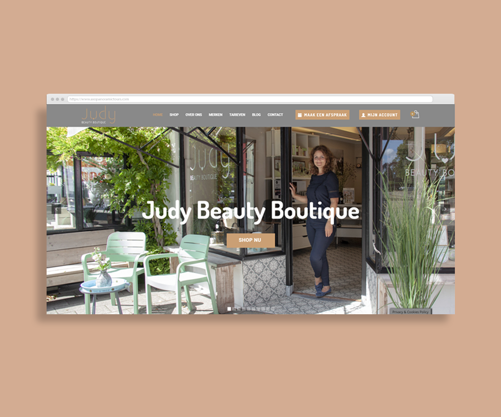 innovative-digital-amsterdam-Judy beauty boutique