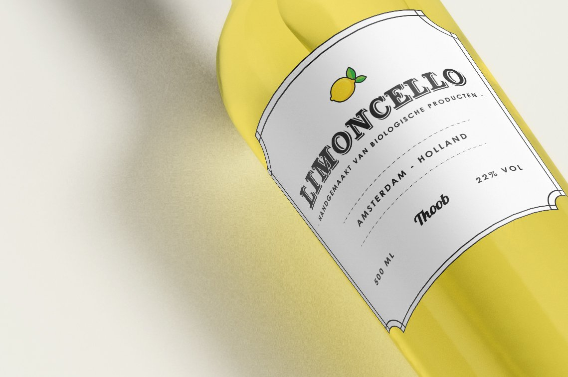 innovative digital limoncello branding deisgn
